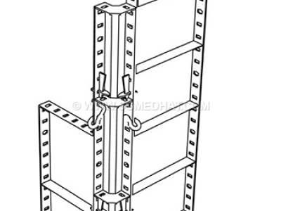 اجزای قالب فلزی