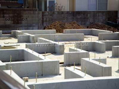 قالب برای شالوده دیوار