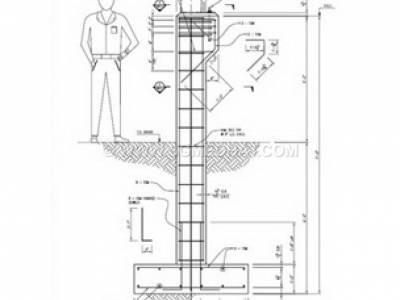 طراحی قالب برای ستونهای مربع و مستطیلی